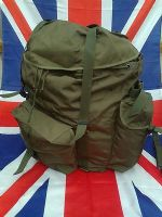 ## NEW ## ARMY MILITARY AUSTRIAN OLIVE GREEN RUCKSACK